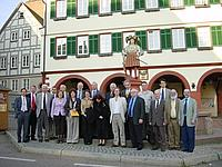 Delegates from APDIC 2006 meeting in Stuttgart